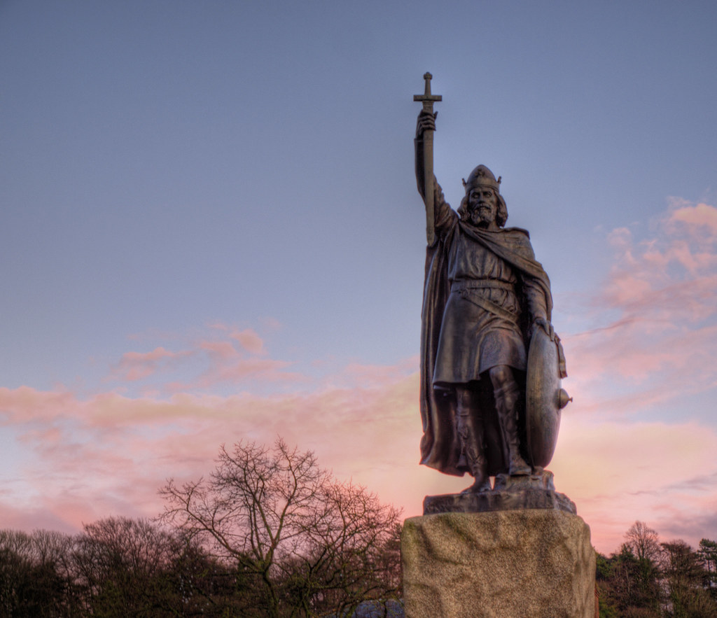 The Statue Of King Alfred
