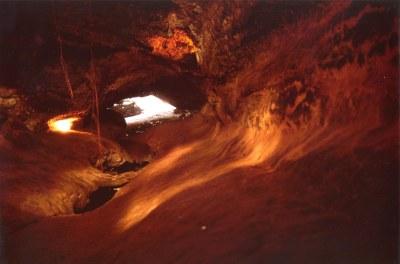 Cueva Don Justo | Cueva volcánica de Don Justo, cerca de ...