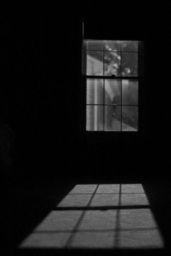 Window Bedroom Through Moonlight