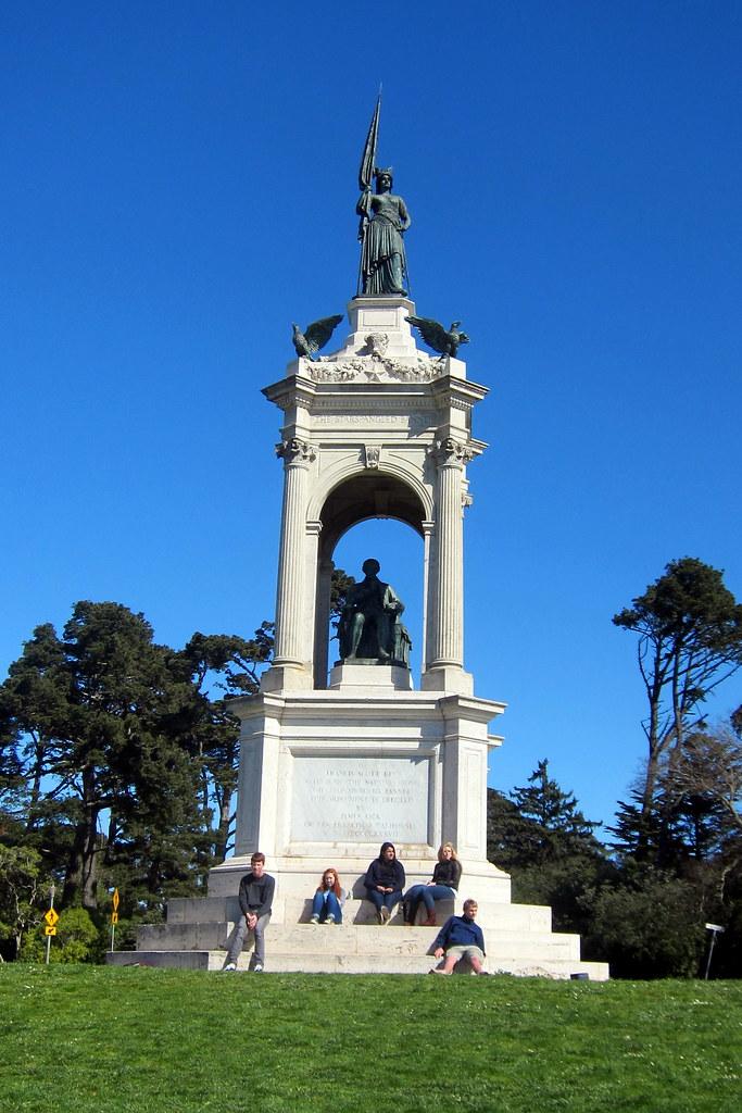 San Francisco Golden Gate Park Francis Scott Key Monume