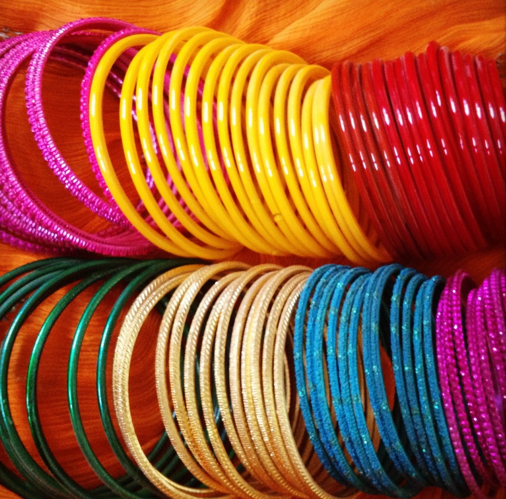 Colorful Glass Bangles One Of The Best Accessories