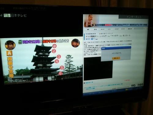 テレビで「ちほちゅう」
