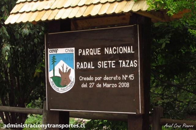 Parque Nacional Radal Siete Tazas (CONAF, Maule, Chile)