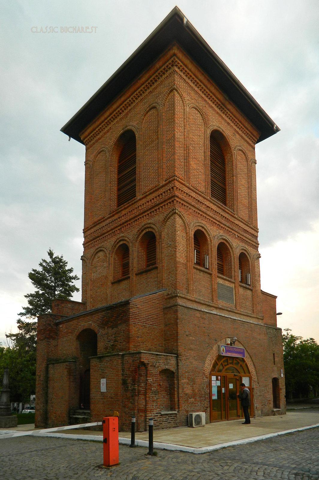 Bell tower of the Patriarchate (1698) Bucharest