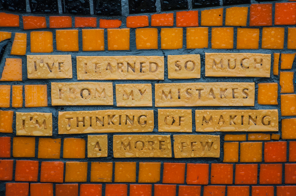 Ive Learned So Much My Mistakes I M Thinking Making Few More