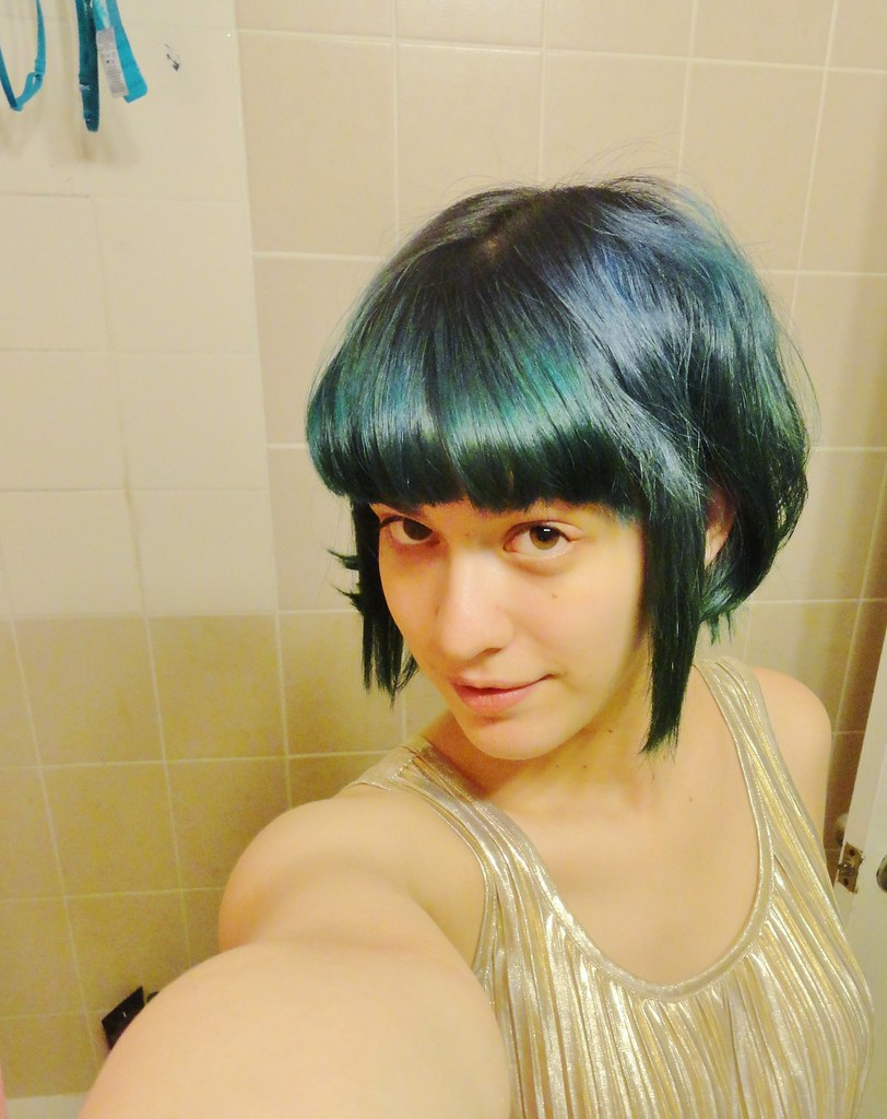 Ramona Flowers Hair My Hair Is Cut At An Angle And Is
