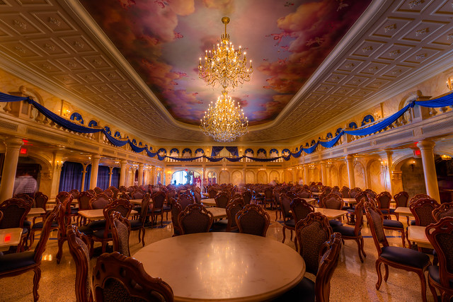 Magic Kingdom Be Our Guest Ballroom Flickr Photo