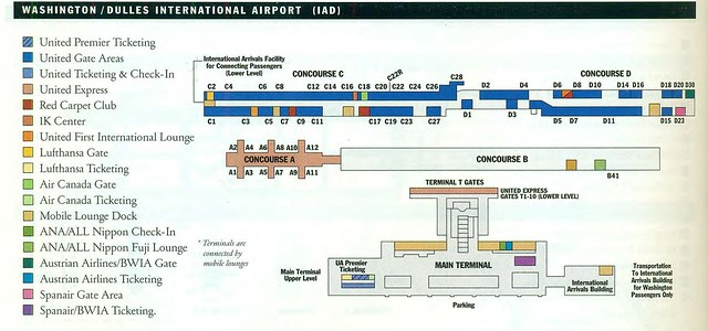 United Dulles Diagram January 2002 Flickr Photo Sharing