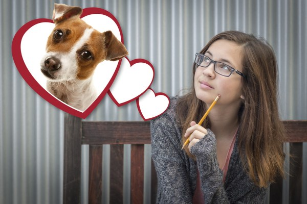 Think before you write. Are you referring to human or puppy? (Image credit: Shutterstock)