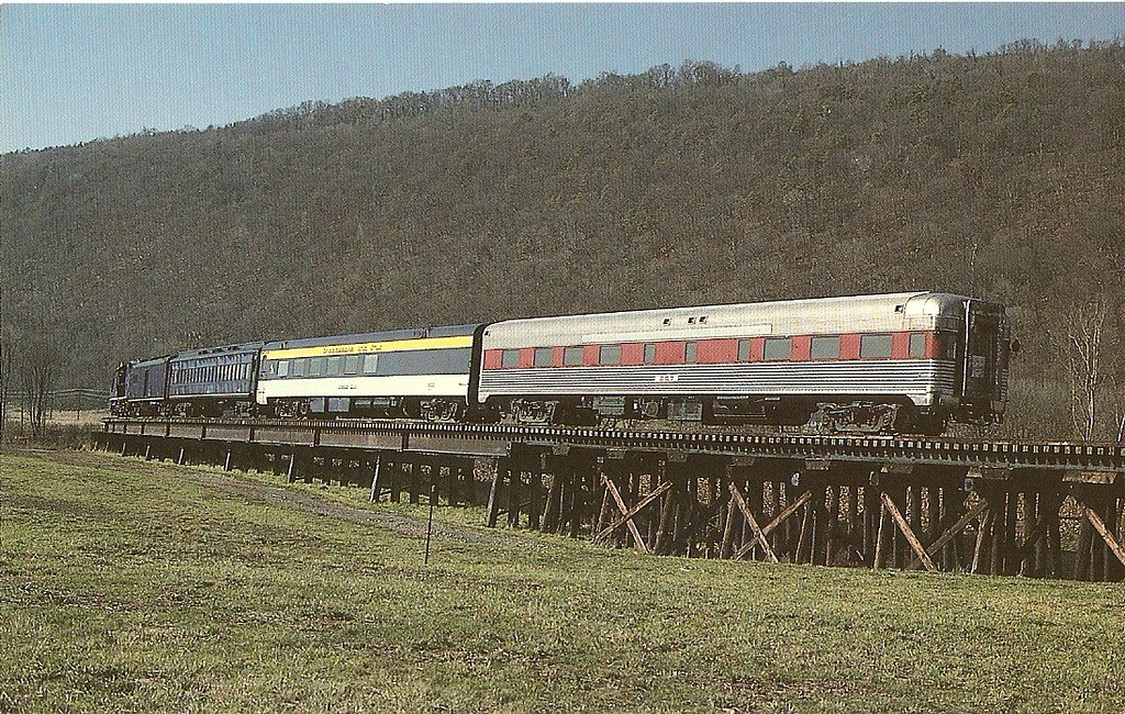 Potomac Eagle Train Romney