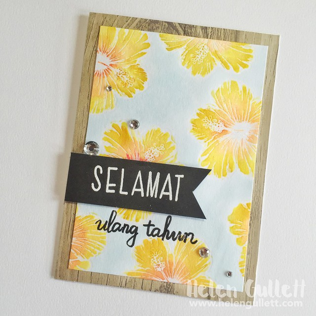 Batik Birthdah Card | http://wp.me/p1DmW0-2pp