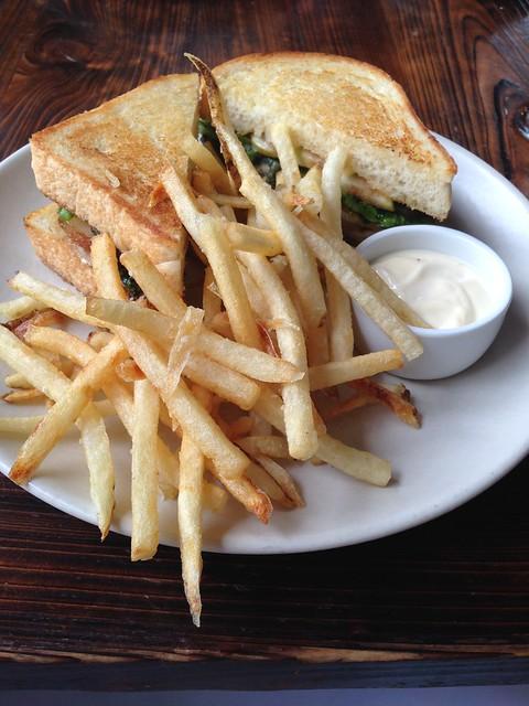 Porchetta sandwich, Coquette, New Orleans
