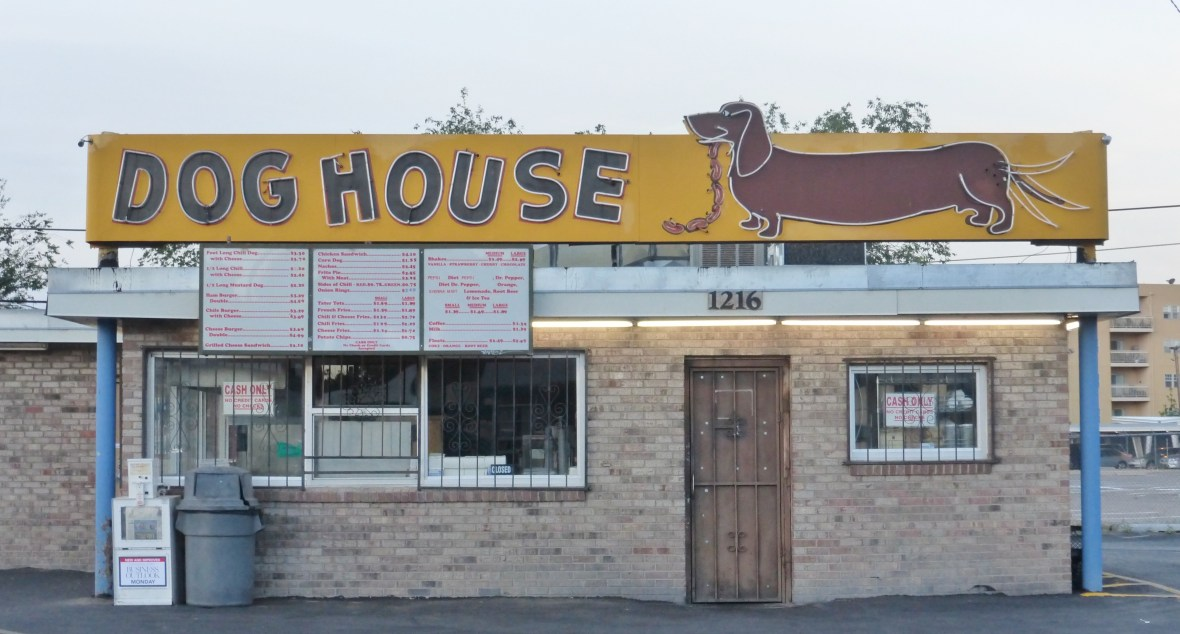 Dog House Drive-In - 1216 Central Avenue SW, Albuquerque, New Mexico U.S.A. - April 18, 2014