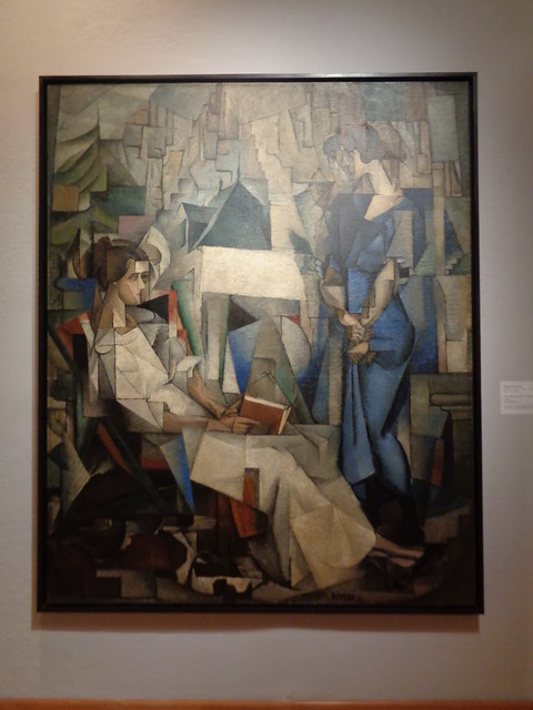 Diego Rivera, Dos Mujeres (Two Women) 1914, Arkansas Arts Center, Little Rock