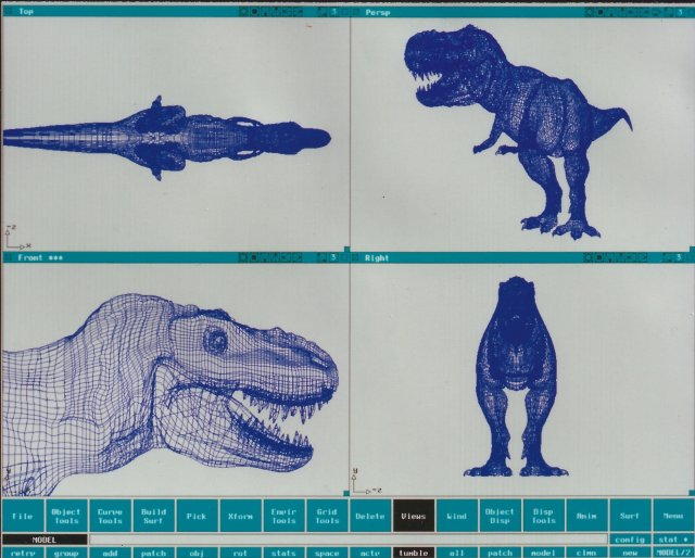 20 dinosaur-t-rex por Steve Williams