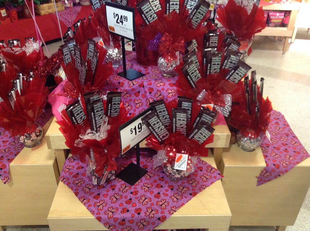 Hershey Chocolate Bar Bouquets For Valentines Day 2015 S