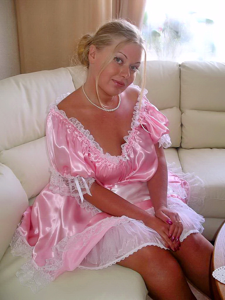 Pretty Pink Maid She Is Gorgeous Sexy And Absolutely