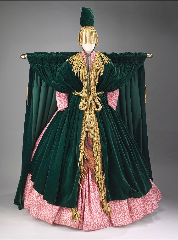 Carol Burnetts Went With The Wind Sketch Costume Desig Flickr