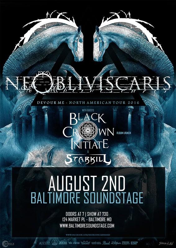Ne Obliviscaris at Baltimore Soundstage
