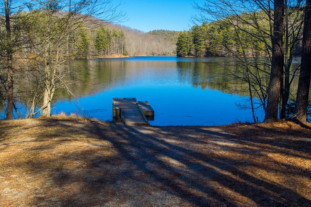 Lake Julia Fishing Pier Dupont State Forest North Caroli