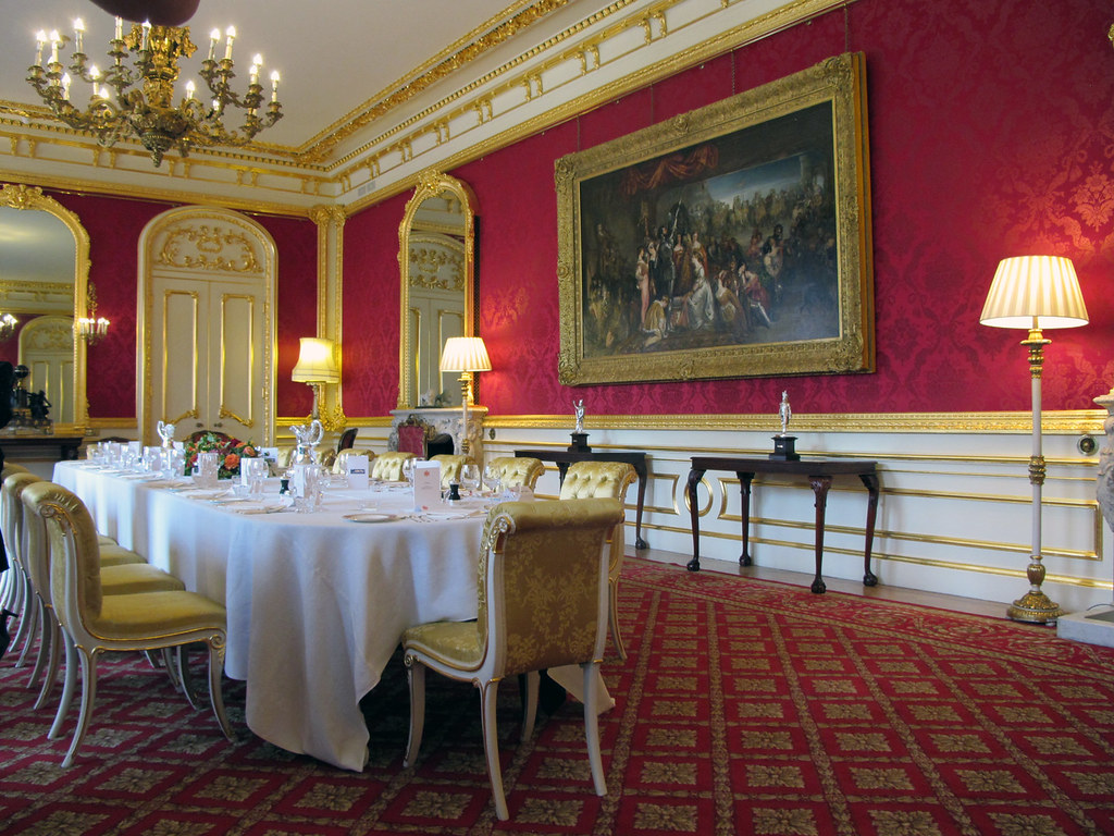 Lancaster Houses Rarely Seen State Dining Room Open Ho