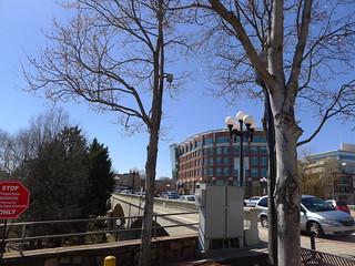 Main Street Bridge looking West