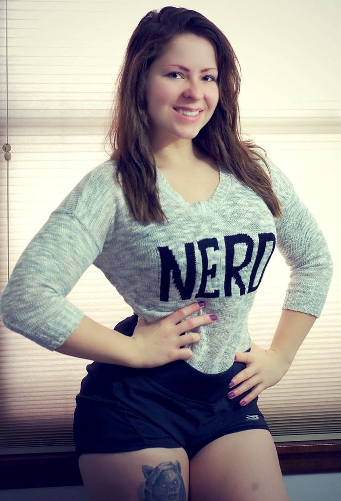 nerdy girls naked tumblr