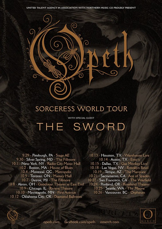 Opeth at the Fillmore Silver Spring