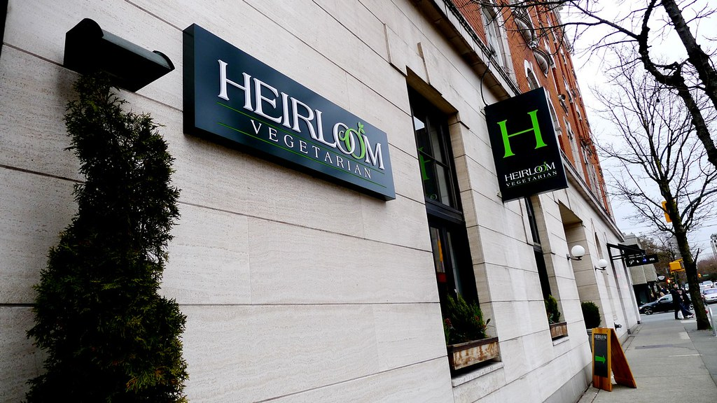 Heirloom Vegetarian Restaurant Vancouver Brunch