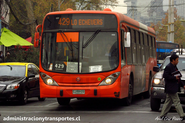 Transantiago - 429 | Express | Marcopolo Gran Viale - Volvo / CJRH20