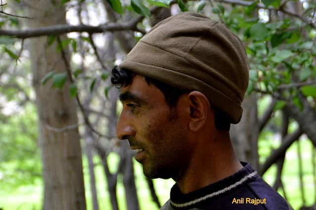 Red Aryans village , Garkon, young man , Batalik, Kargil