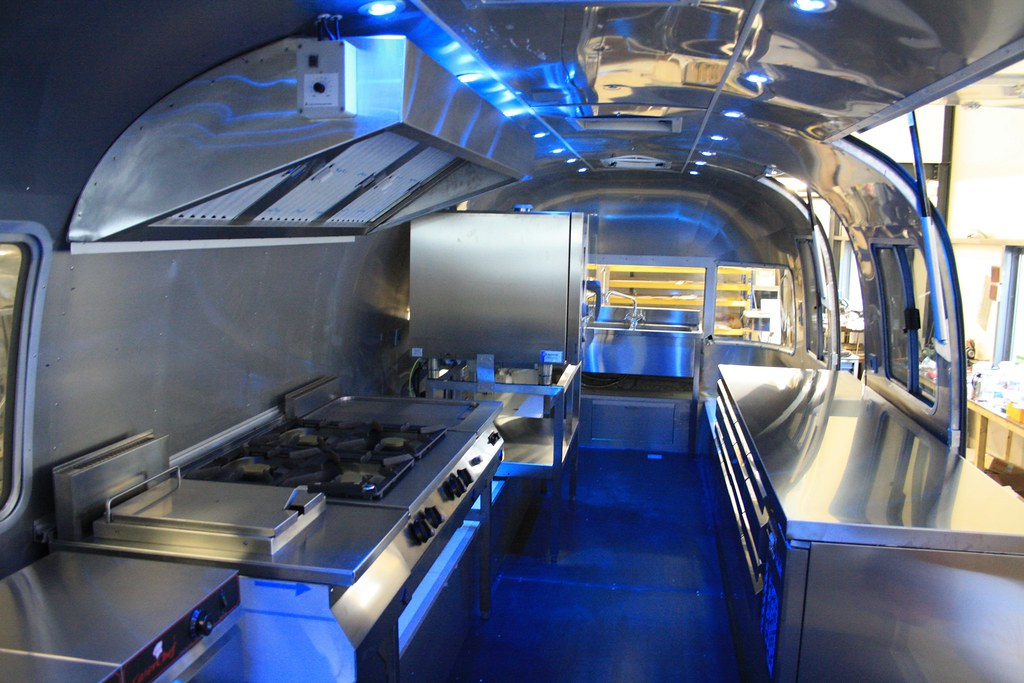 Airstream Food Truck Professionals Kitchen Build In