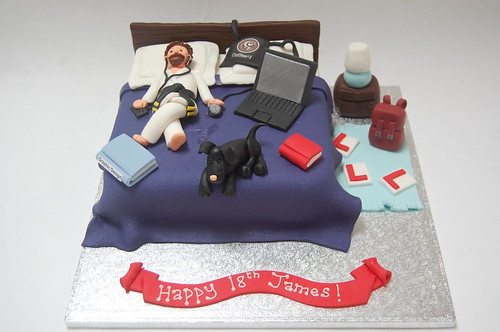 James Messy Bedroom Cake Beautiful Birthday Cakes