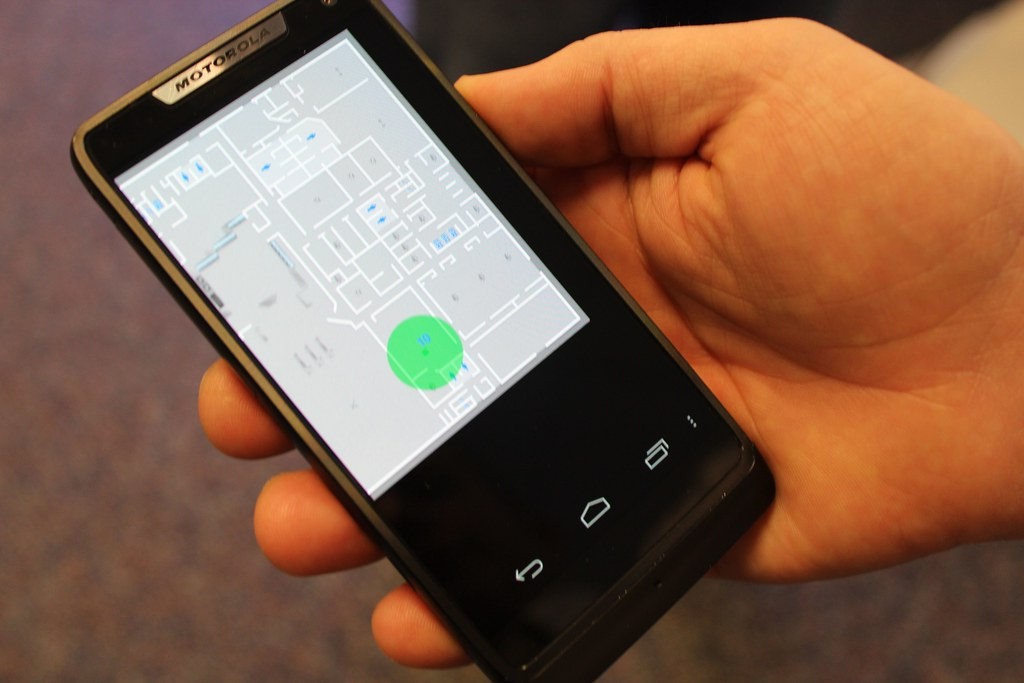Indoor Location Services On Mobile Phone Intel Developed