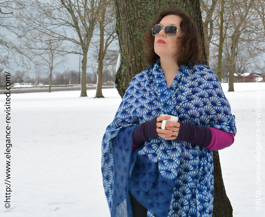 colorful winter style over 40