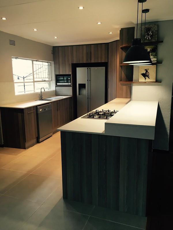 Kitchen renovation: after