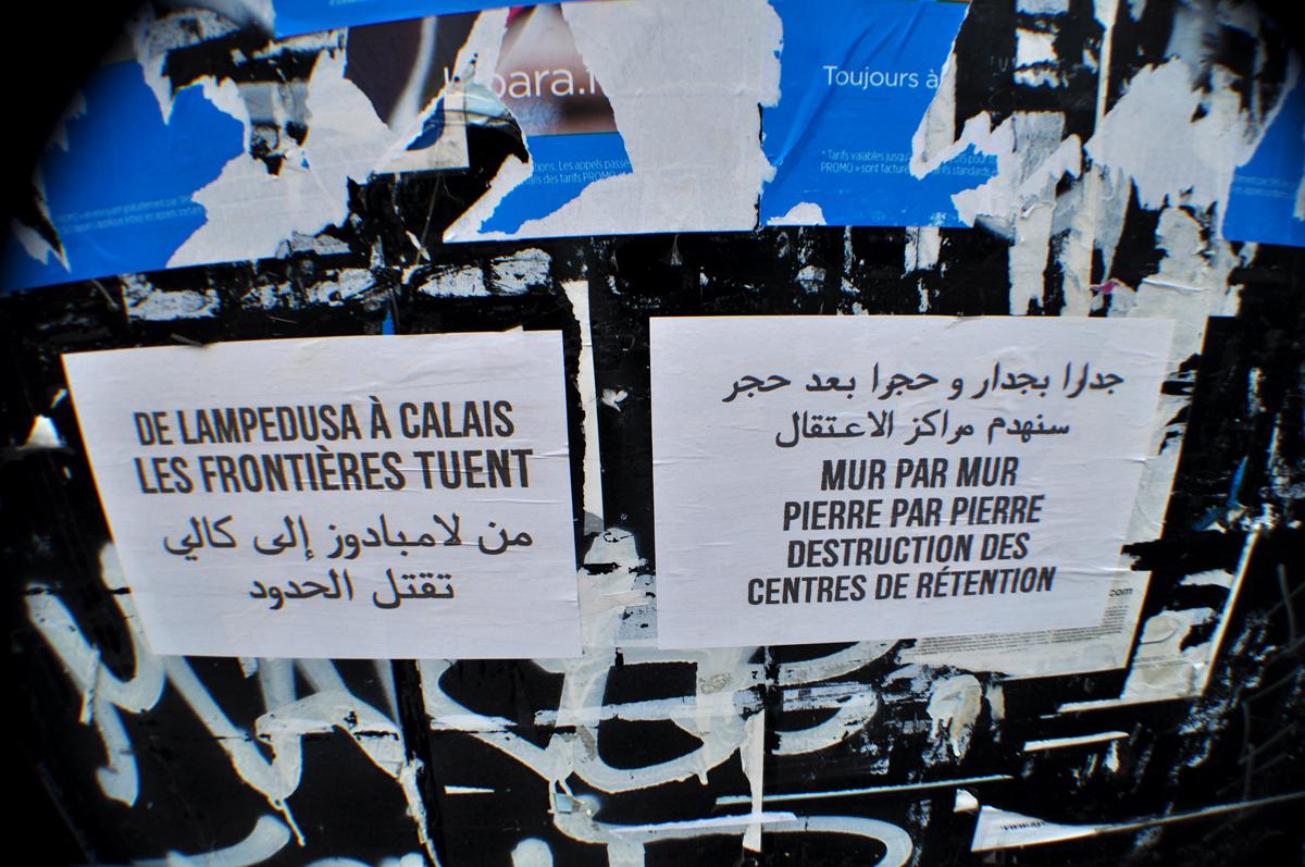 De Lampedusa à Calais les Frontières Tuent