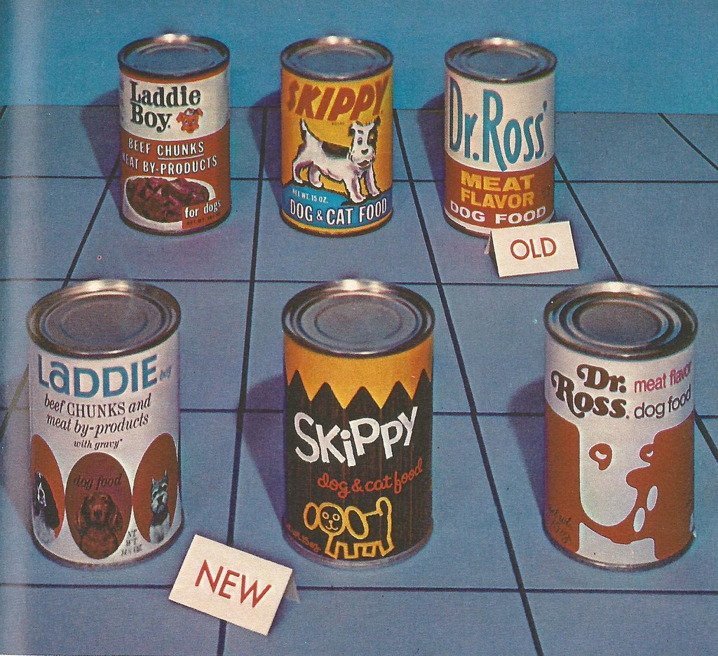 Canned Dog Food 1970