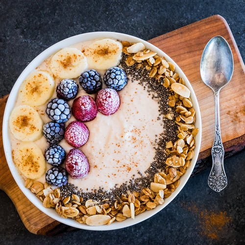 banana pudding breakfast bowl
