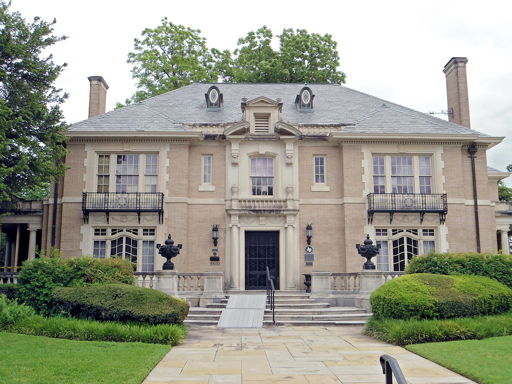 French Renaissance Revival Style Mansion Swiss Avenue Da