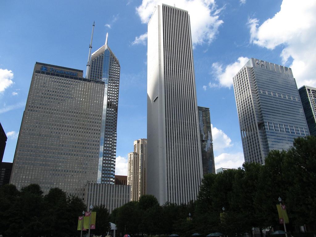 Aon Center Chicago Illinois The Aon Center 200 East