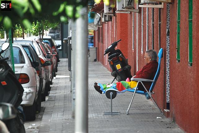 Los ancianos cada vez tienen más peso en Tres Barrios, tanto en porcentaje como por el importante sostén que suponen para los hijos y nietos que regresan a sus antiguos hogares derrotados por la crisis