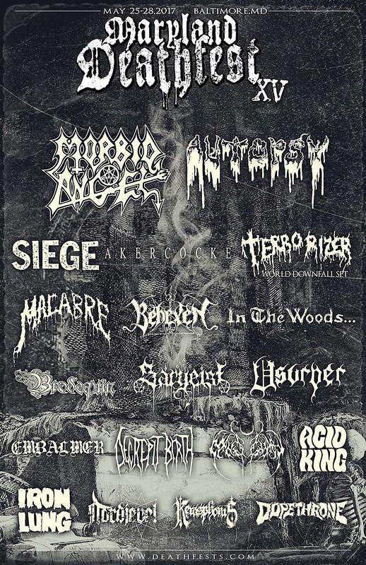 Maryland Deathfest XV