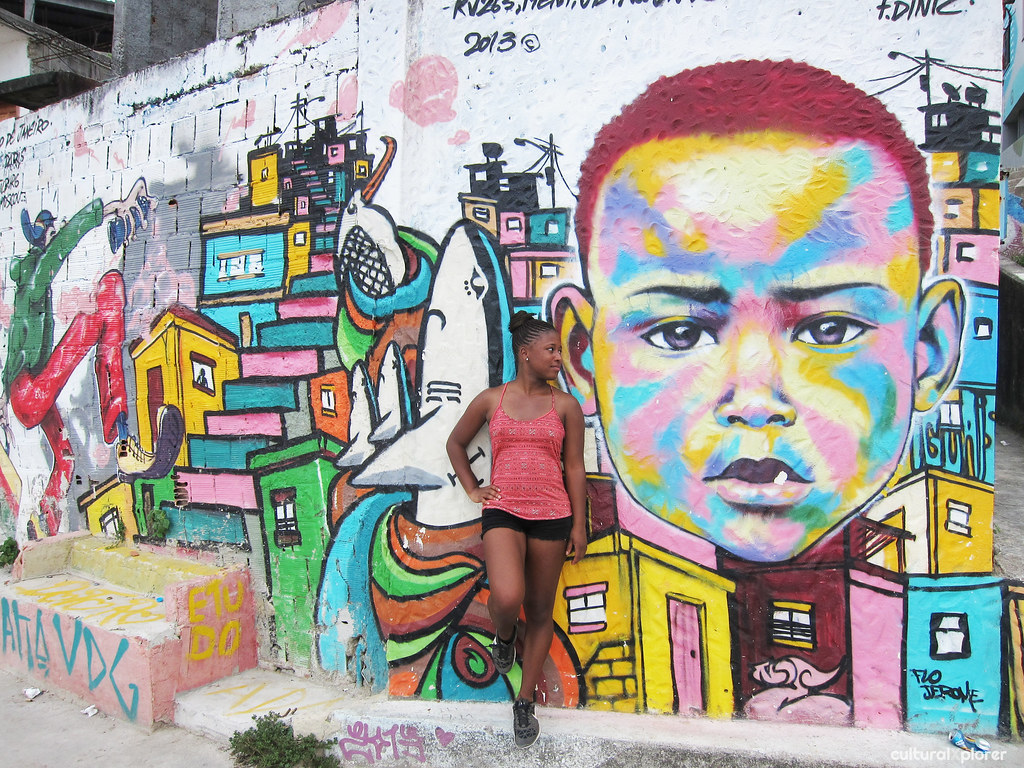 Vidigal Favela Street Art