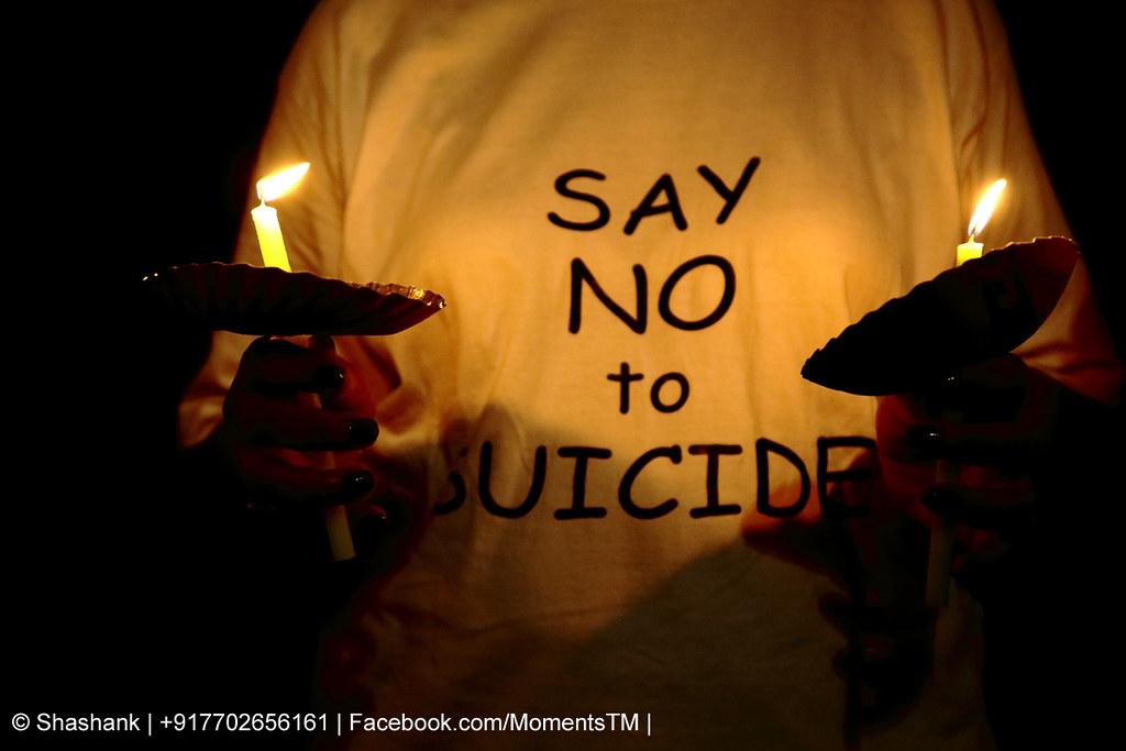 Say Yes To Life Say No To Suicide Shashank Mhasawade