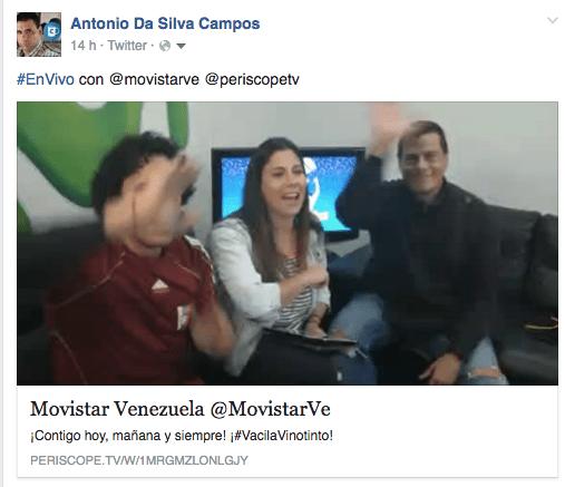 Telefónica | Movistar Venezuela usa de manera acertada la gestión de redes sociales para lograr sus objetivos con sus audiencias.