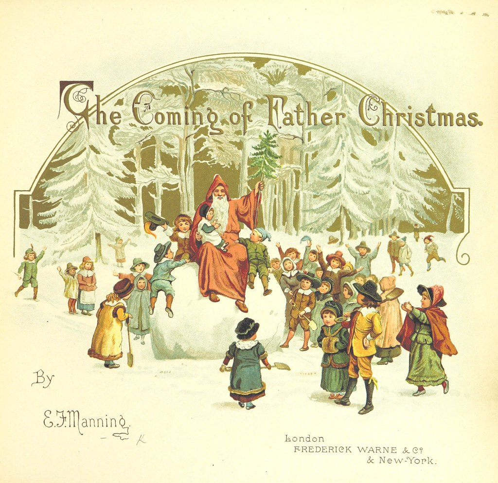 Image Taken From Page 7 Of The Coming Of Father Christmas