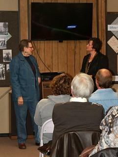Barbara Wehrman announces donation