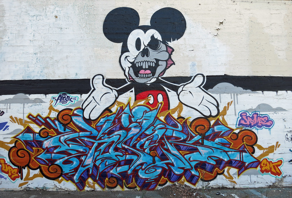 Mickey Mouse Dope Hands Wallpaper