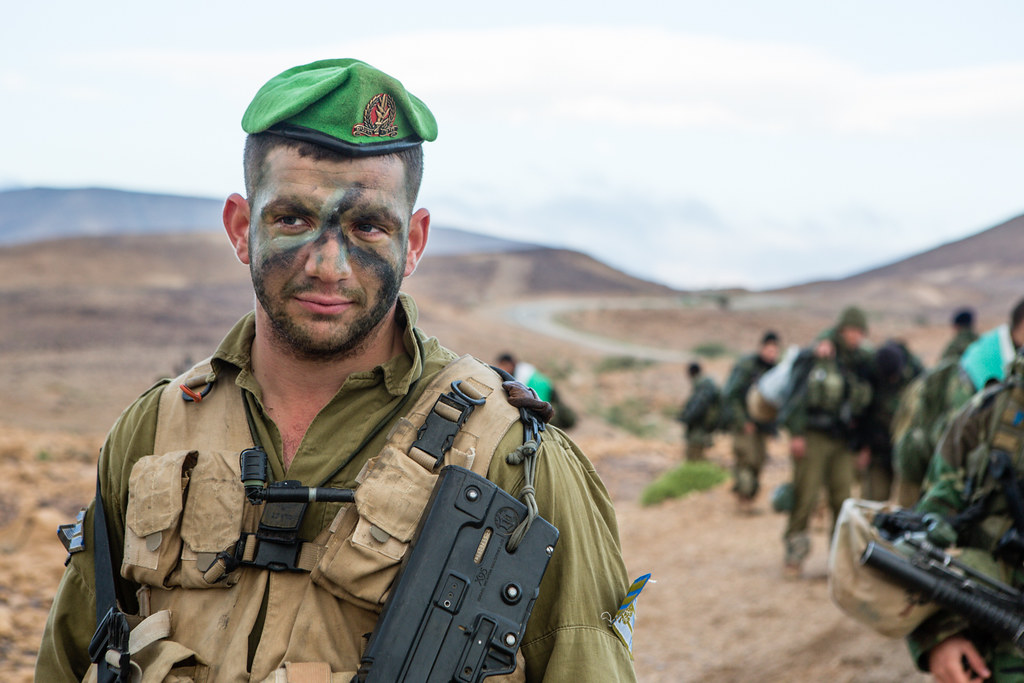 Nahal Infantry Brigade Beret March Soldiers From The